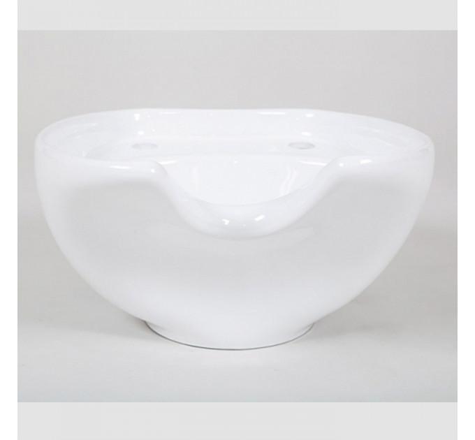 Раковина для парикмахерской мойки Белая